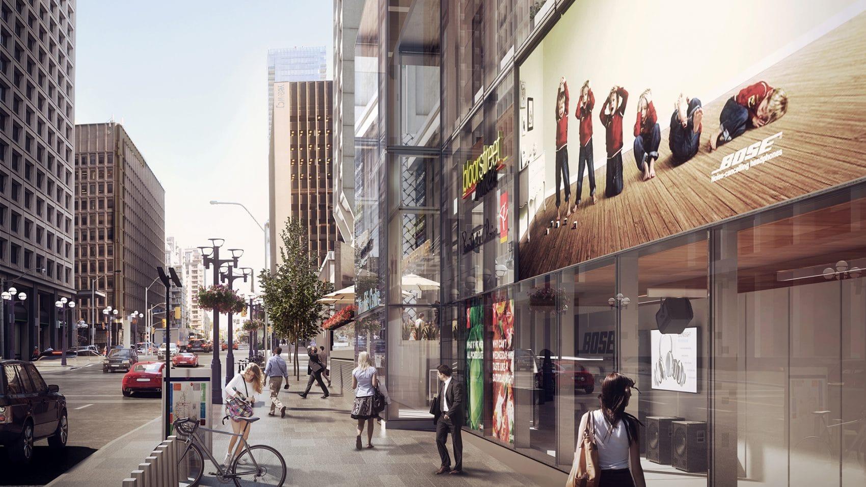 55 bloor street real-estate development