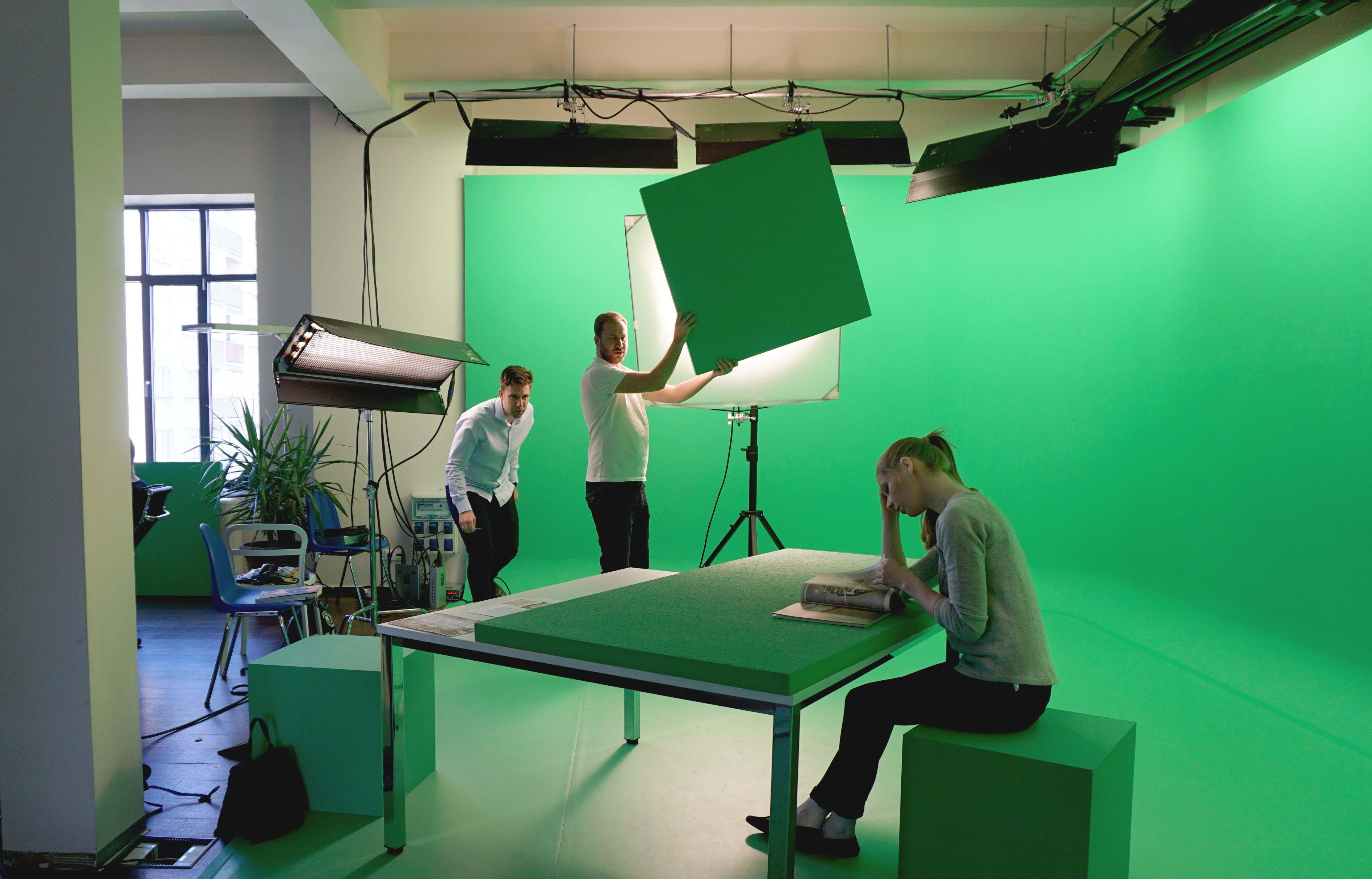 In-house Greenbox Studio