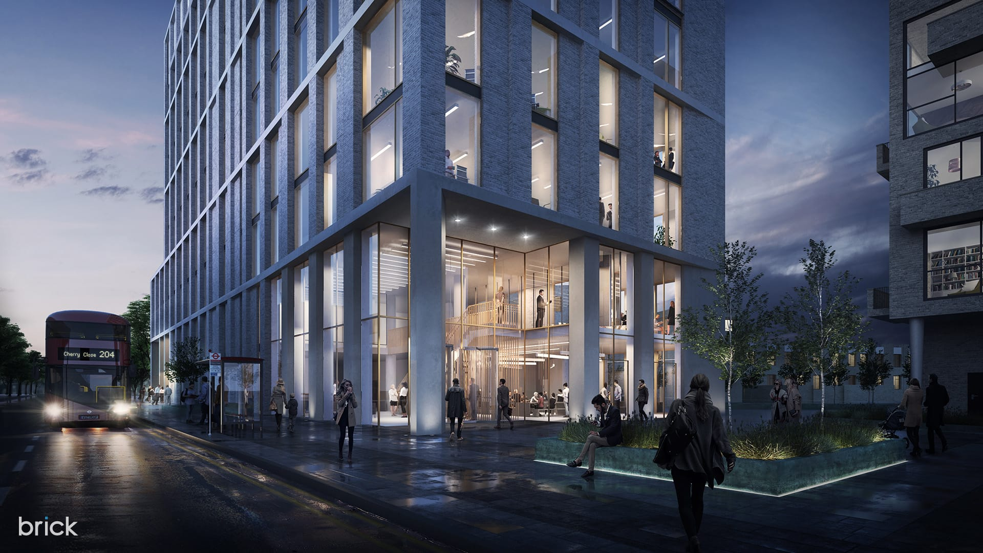 hawkins-brown-colindale-architecture-visualization